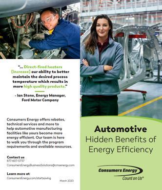 Automotive Manufacturing brochure