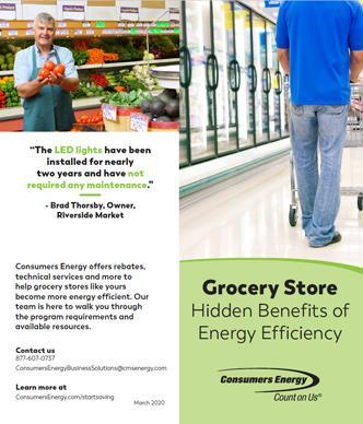 Grocery brochure