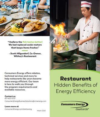 Restaurants brochure