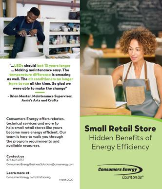 Small Retail Stores brochure